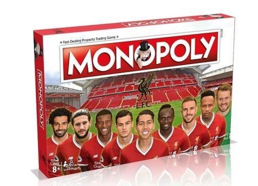 Monopoly FC Liverpool (Gra Planszowa) Gra w angielskiej wersji językowej!