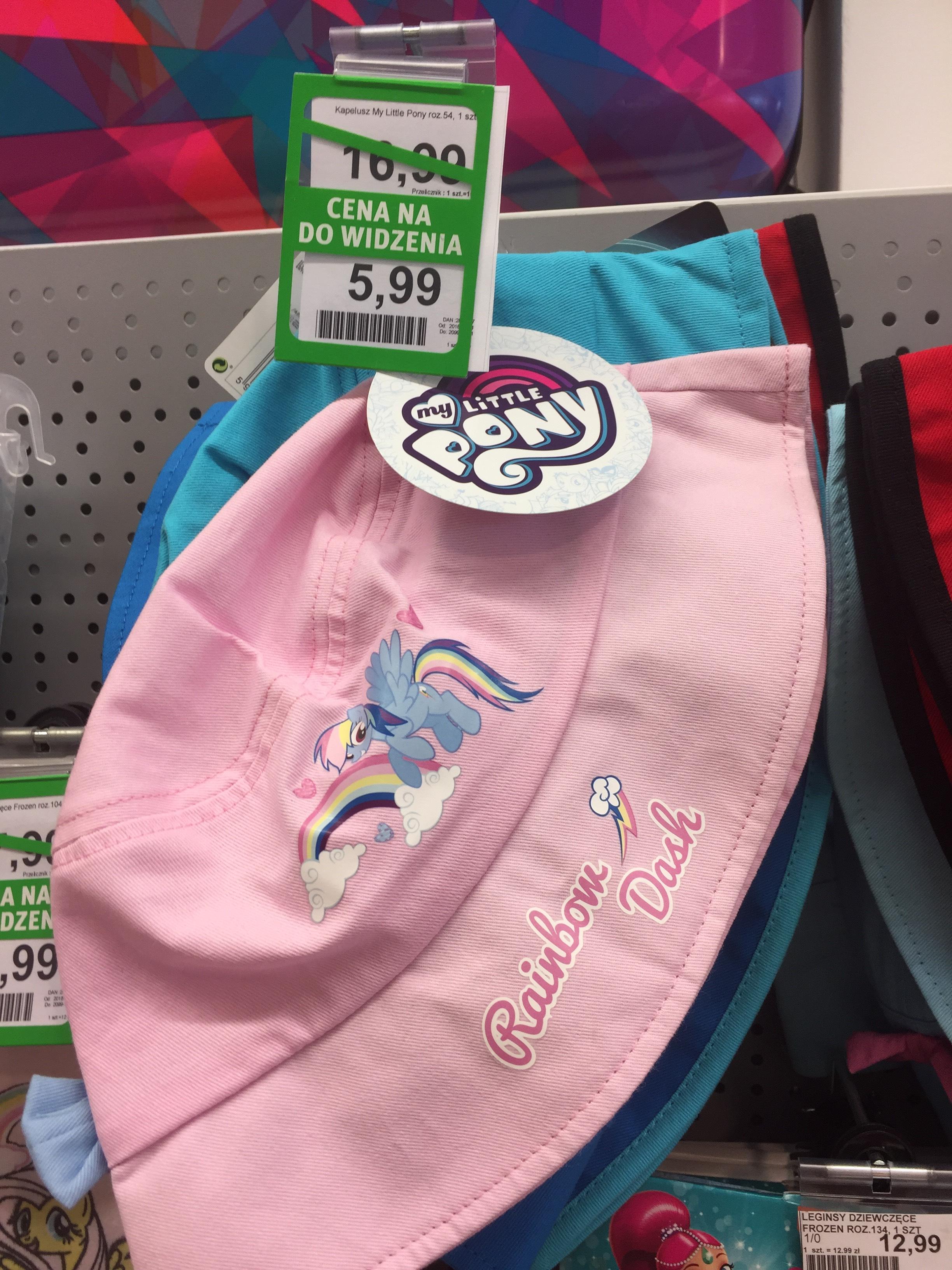 Kapelusik dziecięcy w Rossmanie 5,99