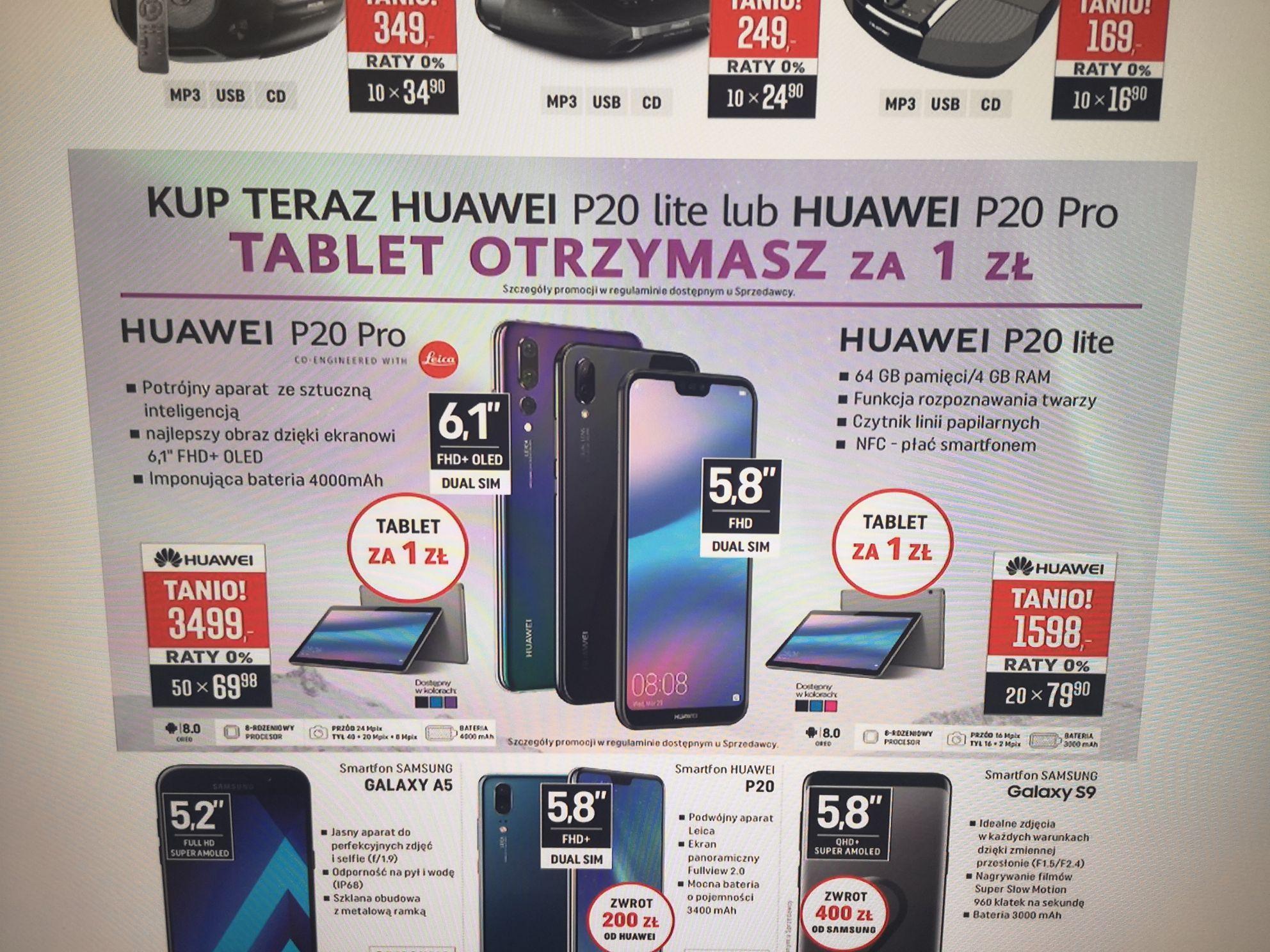 Huawei P20 PRO 128gb Dual Sim IP67 4000mAh OLED