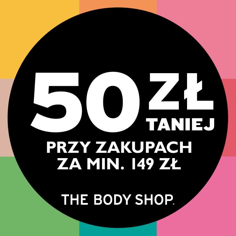 50zł rabatu przy zakupach od 149zł @ The Body Shop