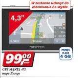 GPS Manta 471 za 99zł @ Real