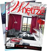 Darmowa 3-miesięczna prenumerata magazynu o urządzaniu wnętrz @ Czas na wnętrze