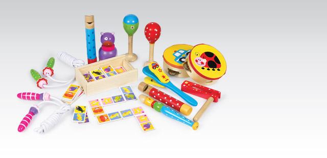 Instrumenty i drewniane zabawki za 8,99zł @ Biedronka