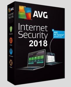 AVG Internet Security 2018 - roczna darmowa licencja