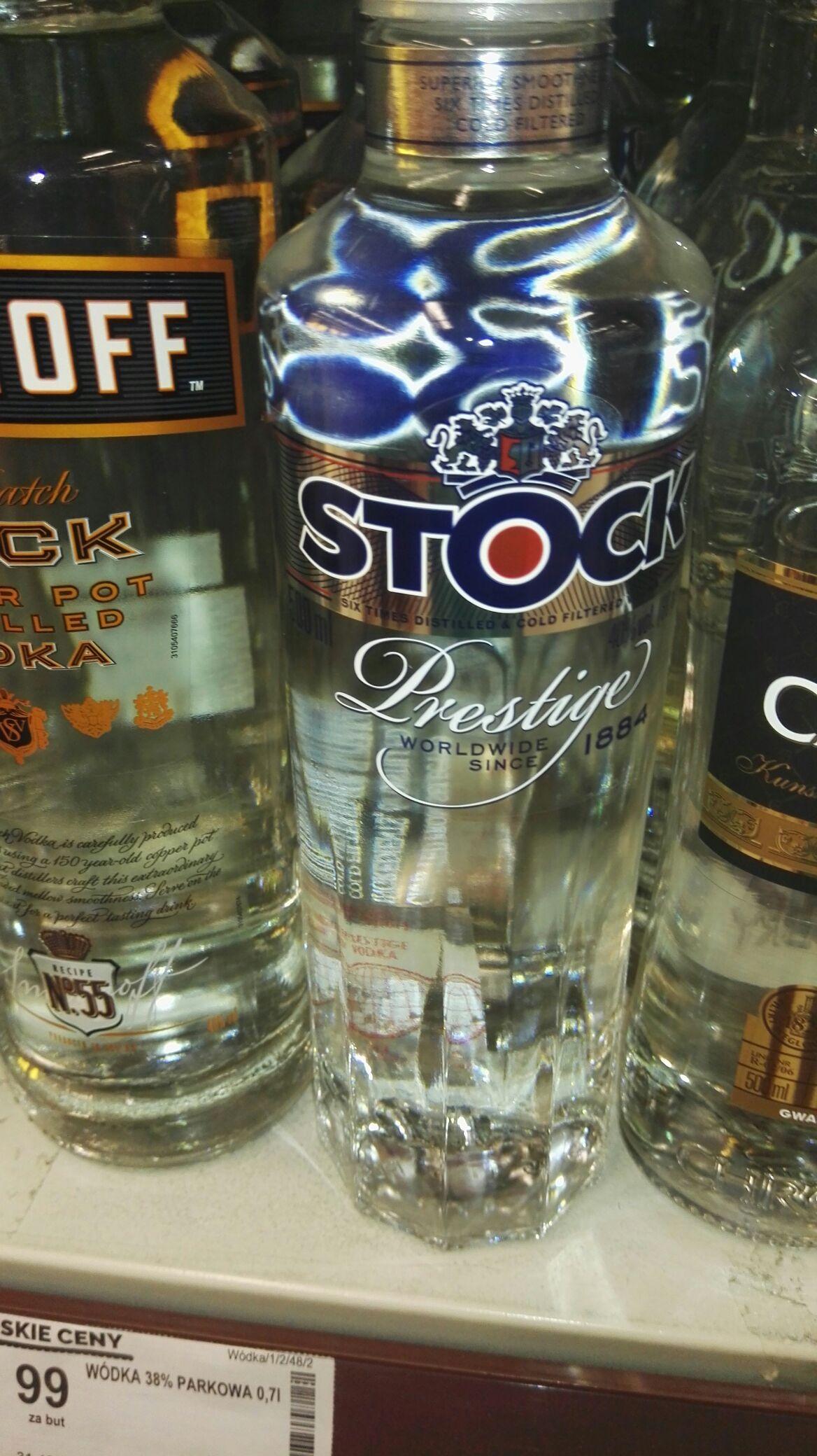 Stock Prestige 0,5 l. w MEGA cenie Biedronka