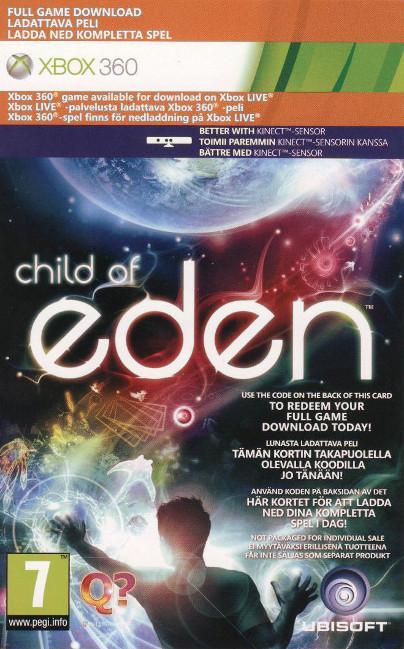 Kod na grę Child of Eden na Xbox 360 oraz Xbox One za 3ZŁ :) (PONOWNIE)