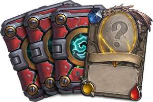 Darmowe 3 pakiety + losowa karta legendarna do Hearthstone