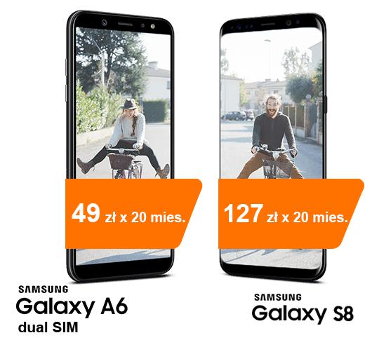 Galaxy s9 za 2332 z Orange + promocja 400zl