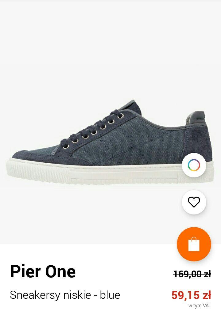 Sneakersy niskie Pier One