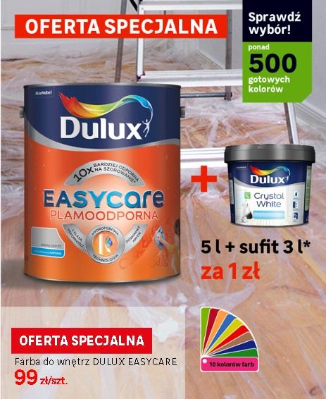 Farba Dulux 5L + 3L Sufitowej za 1zł