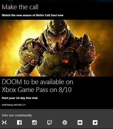 DOOM i RAGE w Xbox Game Pass od piątku 10.08