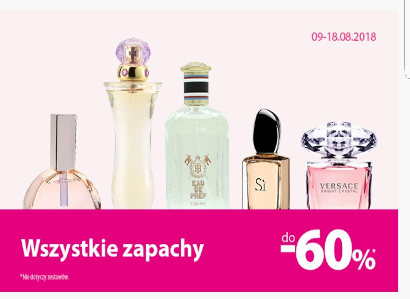 Do 60% na wszystkie perfumy w hebe