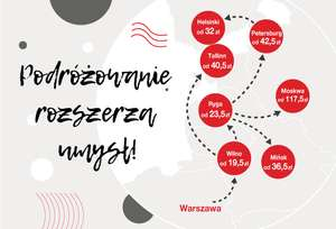 Luxexpress bilety taniej do -50% na trasy międzynarodowe