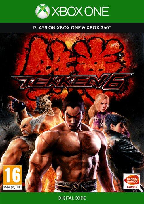 Tekken 6 na Xbox One/Xbox 360 @Cdkeys