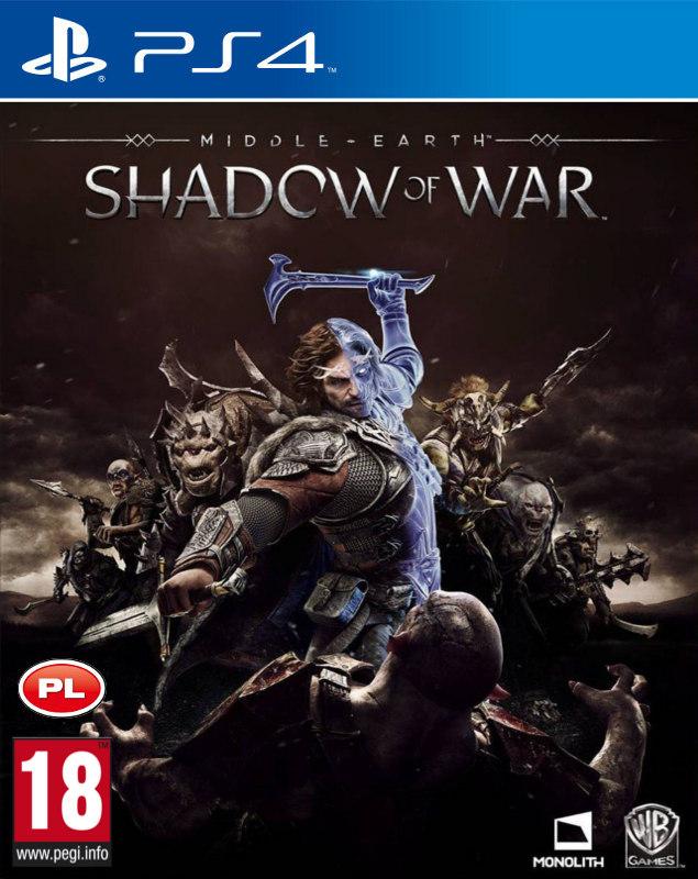 Śródziemie Cień Wojny [PL] + DLC (PS4)