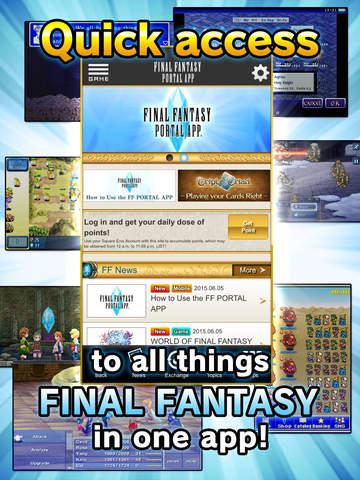 Final Fantasy 1 (iOS/Android) za darmo @ FF Portal App