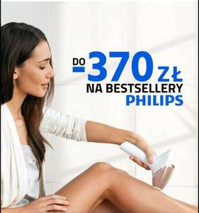 Do - 370 zł na bestsellery philips