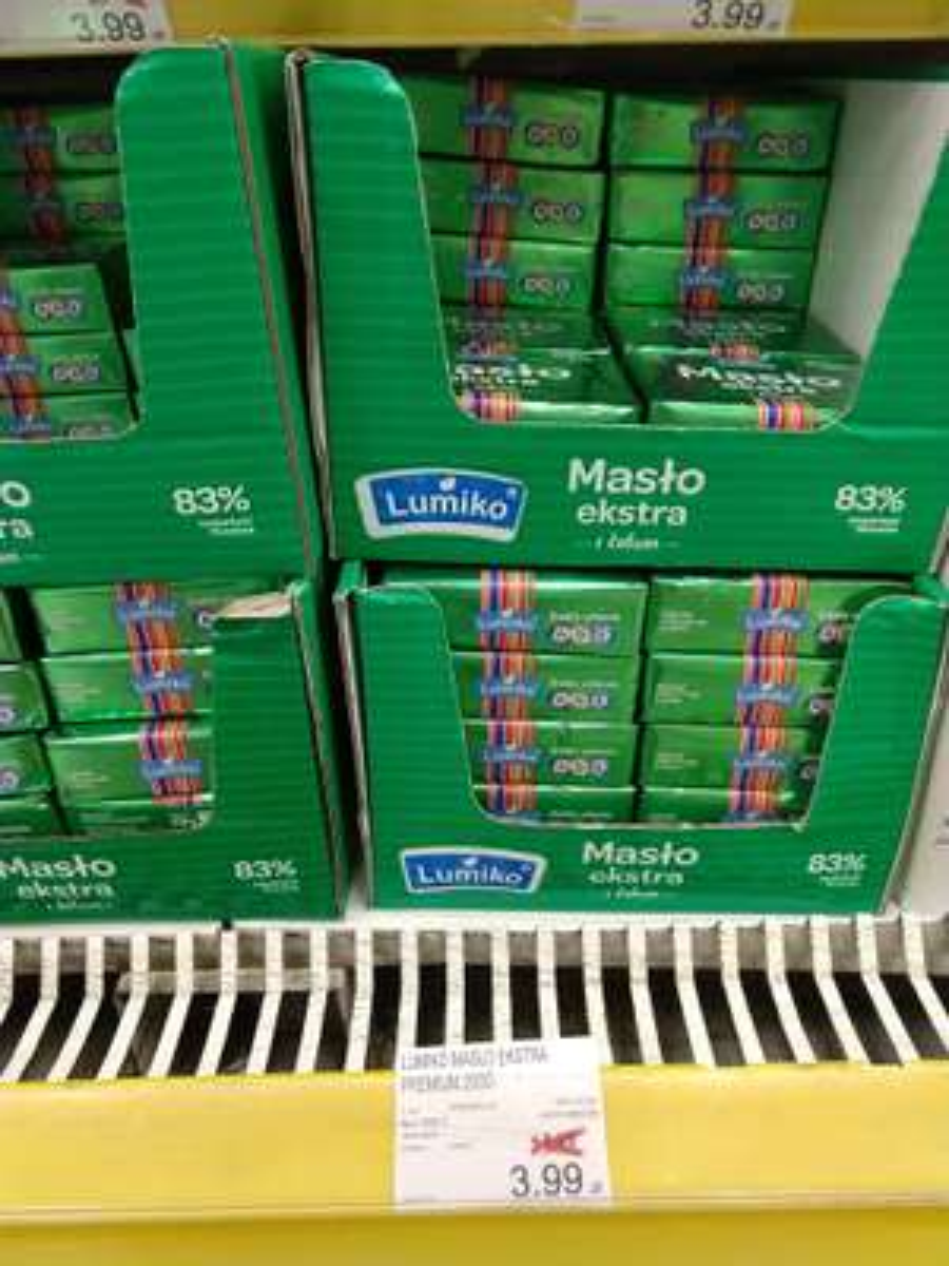 Lumiko Masło Extra 83% Premium 200g @ E.Leclerc