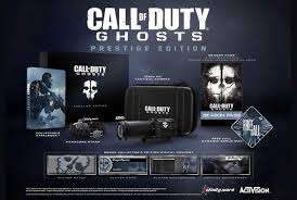 Call of Duty GHOSTS PRESTIGE EDITION (X360)