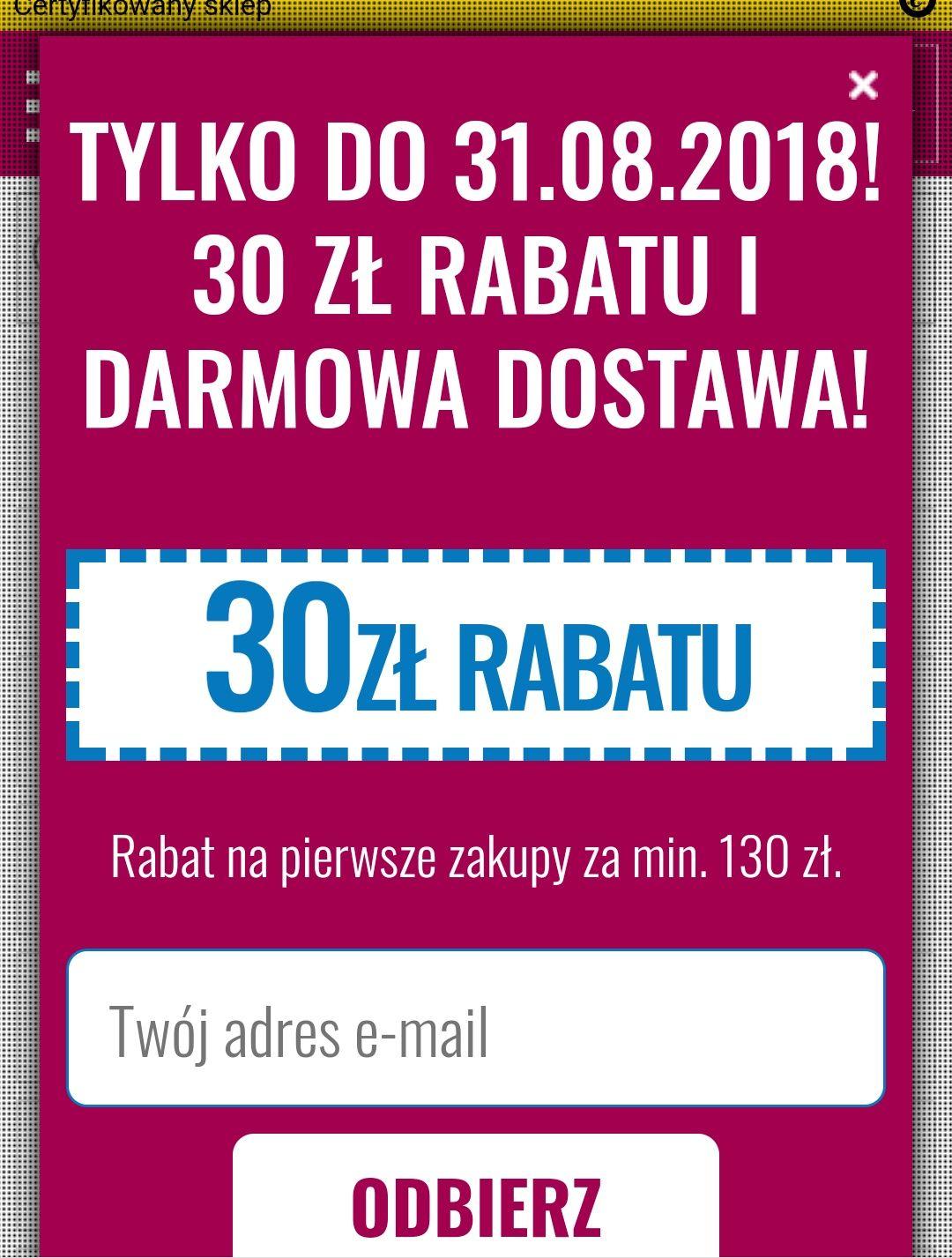 Frisco - 30 PLN MWZ 130 PLN na pierwsze zakupy