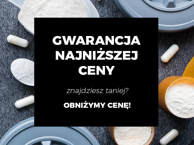 GWARANCJA NAJNIŻSZEJ CENY! Na suplementy i odżywki w Polsce
