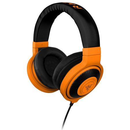 Słuchawki RAZER Kraken Mobile Neon pomarańczowy