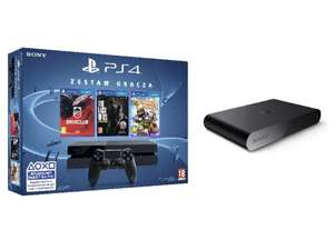 PS4 500 GB + Driveclub + LBP3 + TLoS + Playstation TV za 1799 złotych @ Neo24