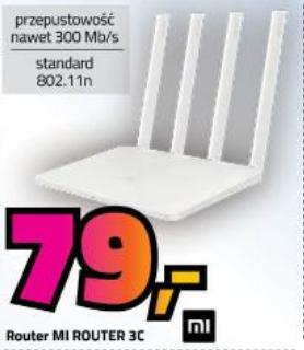 Xiaomi MI Router 3C dla niewymagających (możliwa darmowa dostawa przy zakupie via e-sklep) | mycenter.pl