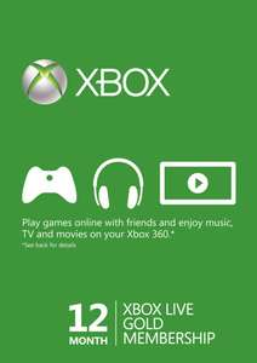 12 Month Xbox Live Gold Membership (Xbox One/360) Brazylia @ CDKeys