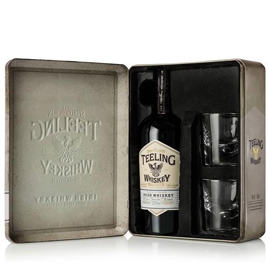 Whiskey Teeling Small Batch 46% 0,7l + 2 szklanki (metalowe pudełko), Selgros Kraków