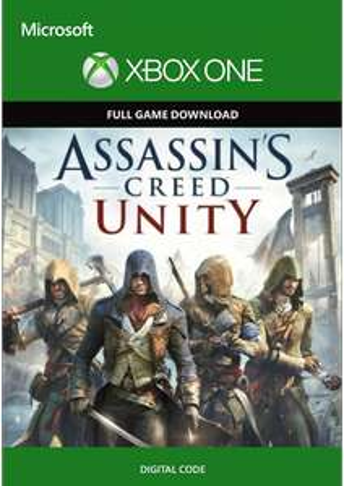 Xbox one, Assasin's Creed Unity digital code