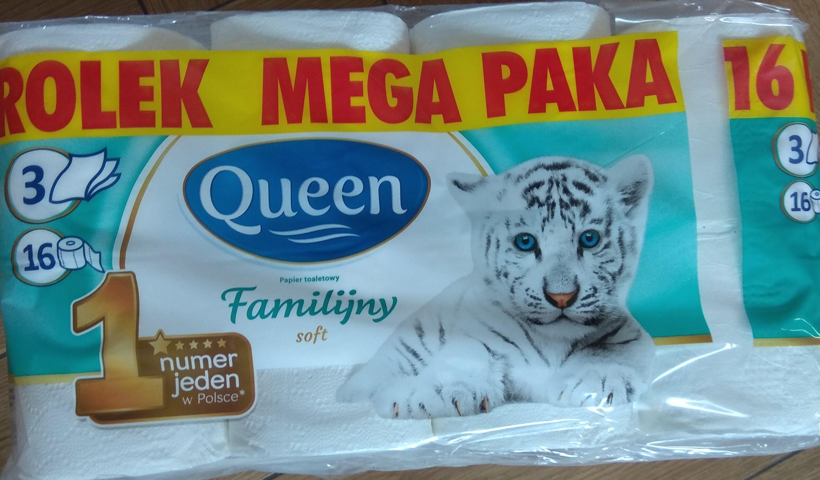 Papier Queen familijny 3 warstwowy