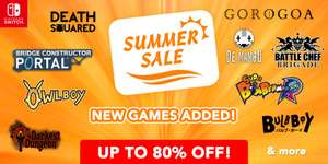 Nowe gry w Nintendo Switch Summer Sale