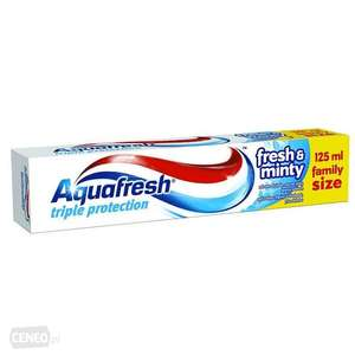 Pasta do zębów Aquafresh powiększona (125 ml) za 3 PLN przy zakupie dwóch sztuk w Hebe