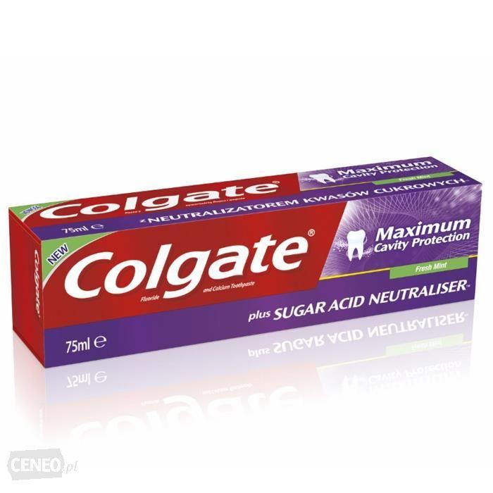 Pasta do zębów colgate Maximum Cavity Protection za 5 PLN przy zakupie dwóch sztuk w Hebe