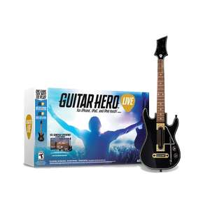 Gra Guitar Hero Live na iOS (iPhone iPod iPad Apple TV) wraz z gitarą