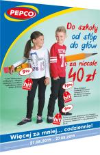 Moda dla dzieci - t-shirty za 10zł, dżinsy za 20zł @ Pepco