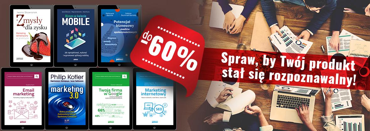 Produkty, copywriting, marketing... Książki do 60% taniej @ OnePress, ebookpoint