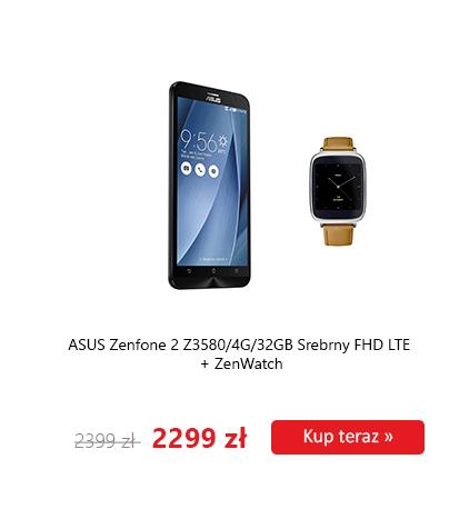 100zł na zakup Asus Zenwatch, przy zakupie Asus Zenfone 2 @ X-kom