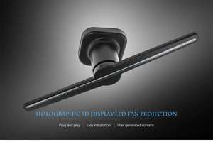 Projektor holograficzny - Utorch FY3D - Z1 Holographic Display LED Fan Advertising Machine AC 100 - 240V + Priority Line!