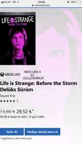 Life is Strange: Before the Storm - Deluxe Edition z Tureckiego MS Store (XBOX) (XONE)