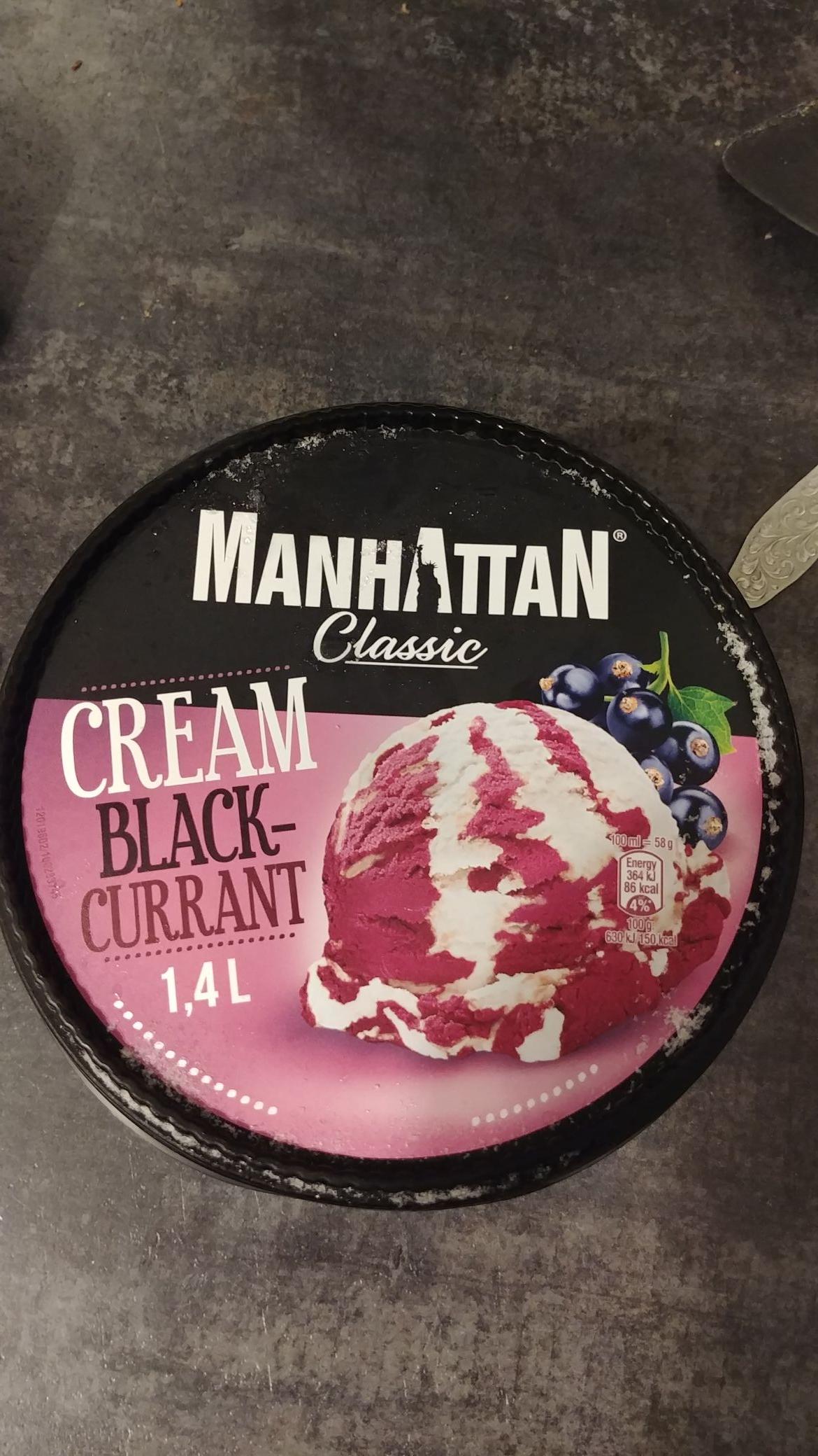 Manhattan CREAM BLACKCURRANT Zielona Budka Rzeszów