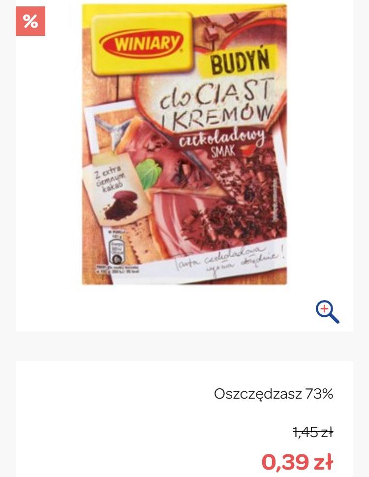 Winiary budyń do ciast i kremów, czekoladowy 40g Carrefour online