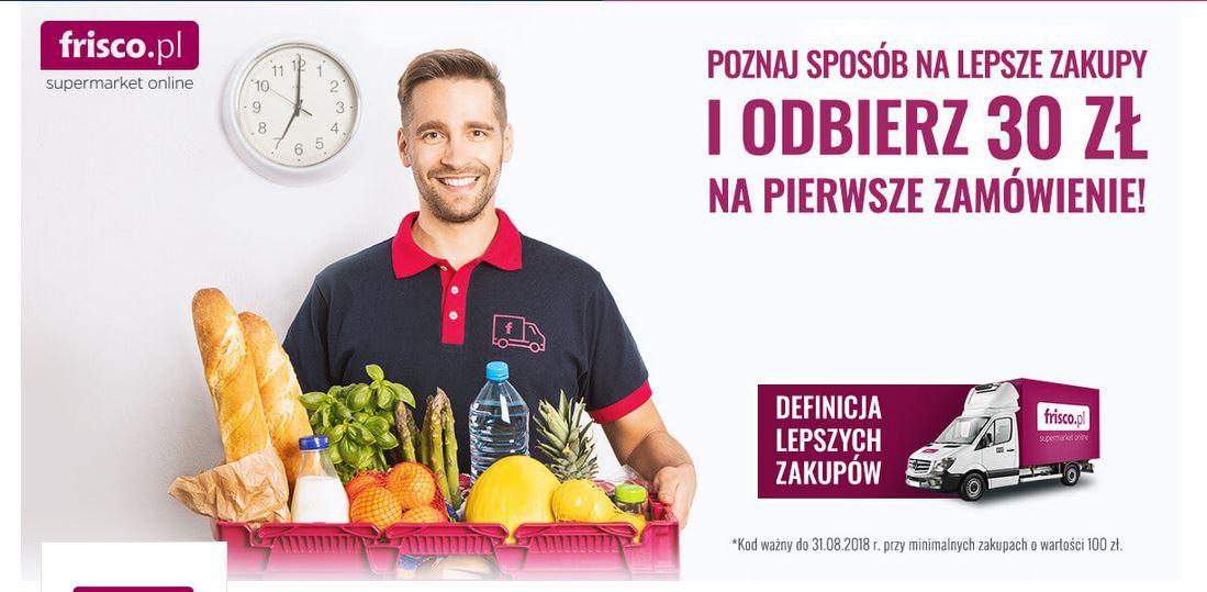-30zł do frisco na Goodie dla Warszawy mwz.100 + darmowa dostawa