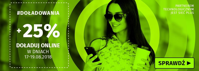 Lajt mobile – weekendowa promocja doładowań +25%