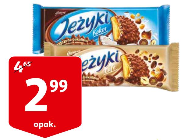 Ciastka Jeżyki w Auchan