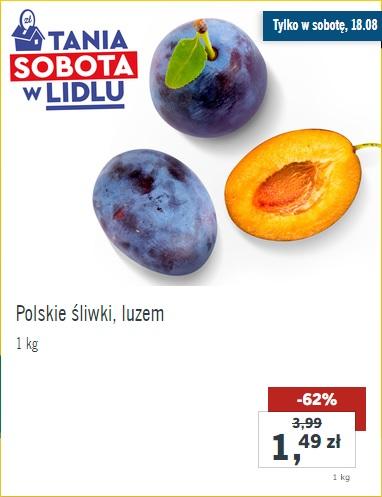 Lidl - Polskie śliwki węgierki, luzem 1,49zł/kg