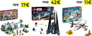 Różne zestawy LEGO w tym 41317, 60169, 41352 itp. Amazon.es