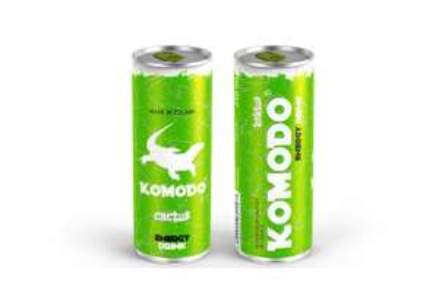 Auchan: energetyk Komodo - złotówka za puszkę