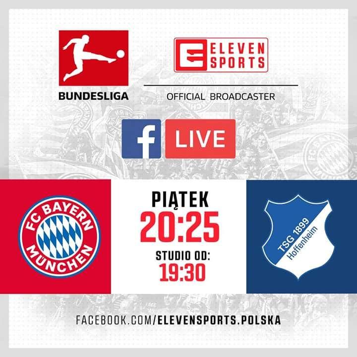 Inaguracyjny mecz Bundesligi do obejrzenia za darmo na Facebooku